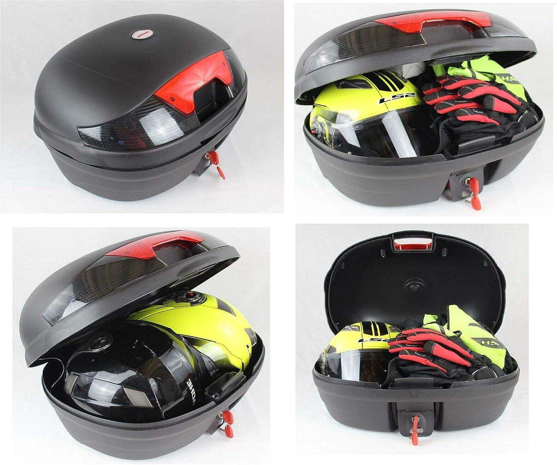 Honda PCX 125 150 rear rack 46 LT top case set 2010-19 ALL IN ONE
