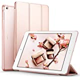 iPad Air Case, ESR Smart Case Cover [Synthetic Leather] Translucent Frosted Back Magnetic Cover with Auto Sleep/Wake Function [Ultra Slim][Light Weight] for iPad 5 (Rose Gold)