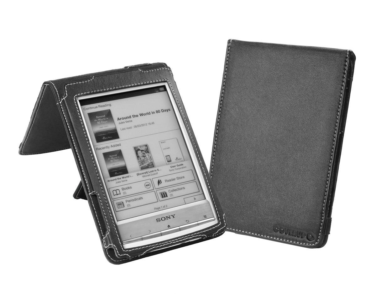 Cover-Up - Funda para eReader Sony (piel, con función atril ...