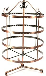 Amazoncom 92 pairs Copper Color Rotating Earring Holder Earring