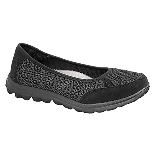 2391fc31 Boulevard - Zapatillas deportivas sin cordones con suela de memory foam  para mujer: Amazon.es: Zapatos y complementos