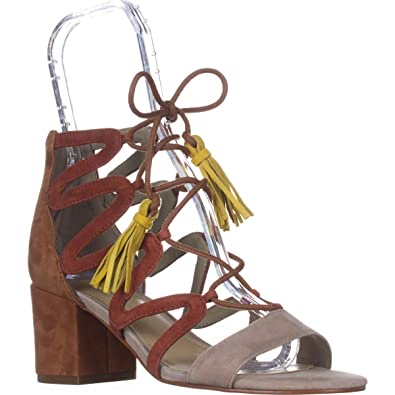 32d056c56151 Marc Fisher Womens Rayz Suede Almond Toe Casual Strappy
