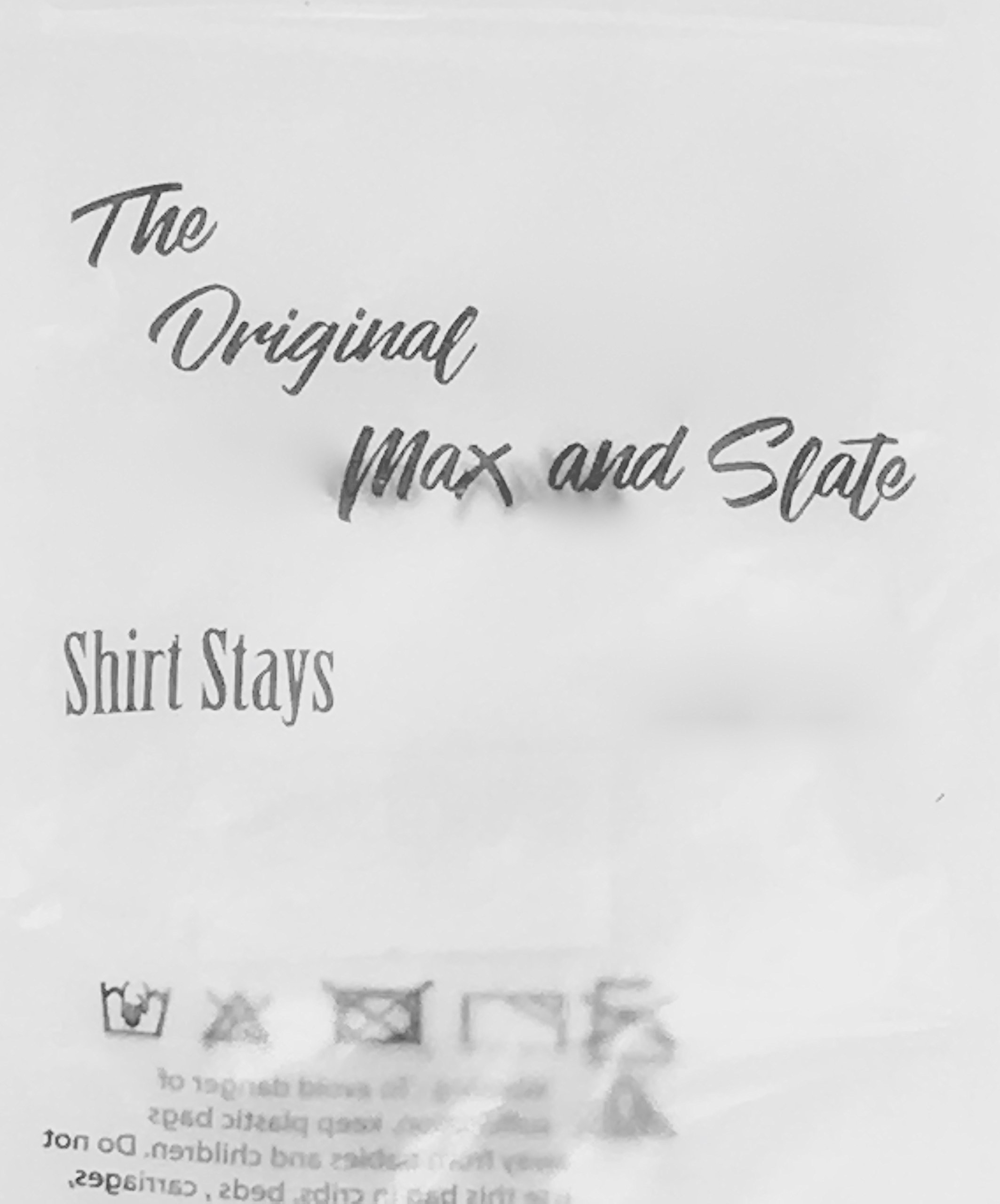 Shirt Stay - by Max and Slate for Mens Thin Shirt - Slim and Lean