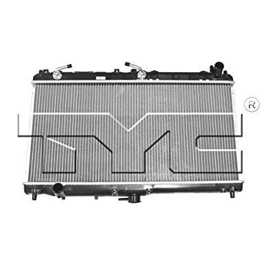 TYC 2268 Compatible with MAZDA Miata 1-Row Plastic Aluminum Replacement Radiator: Automotive