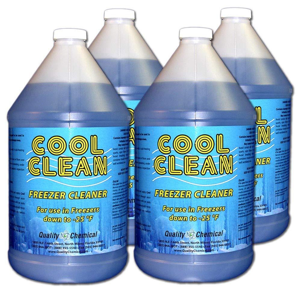 Cool Clean Heavy-Duty Freezer Cleaner-4 gallon case