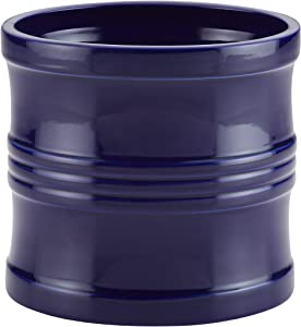 Circulon Ceramics Tool Crock/Utensils Crock - 7.5 Inch, Blue