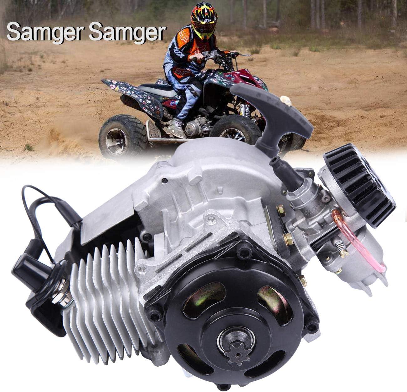 Samger Samger 49cc 2 Tiempos Motor Inicio de retroceso para Gas Scooter Pocket bike Mini Choppers