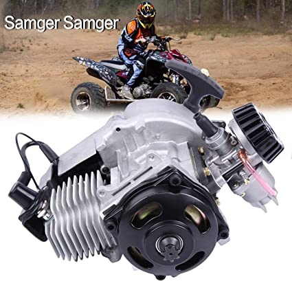 Samger Samger 49cc 2 Tiempos Motor Inicio de retroceso para Gas Scooter Pocket bike Mini Choppers: Amazon.es: Coche y moto