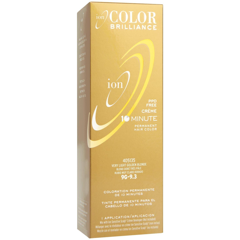Amazon Ion Color Brilliance Permanent Creme 10 Minute Hair
