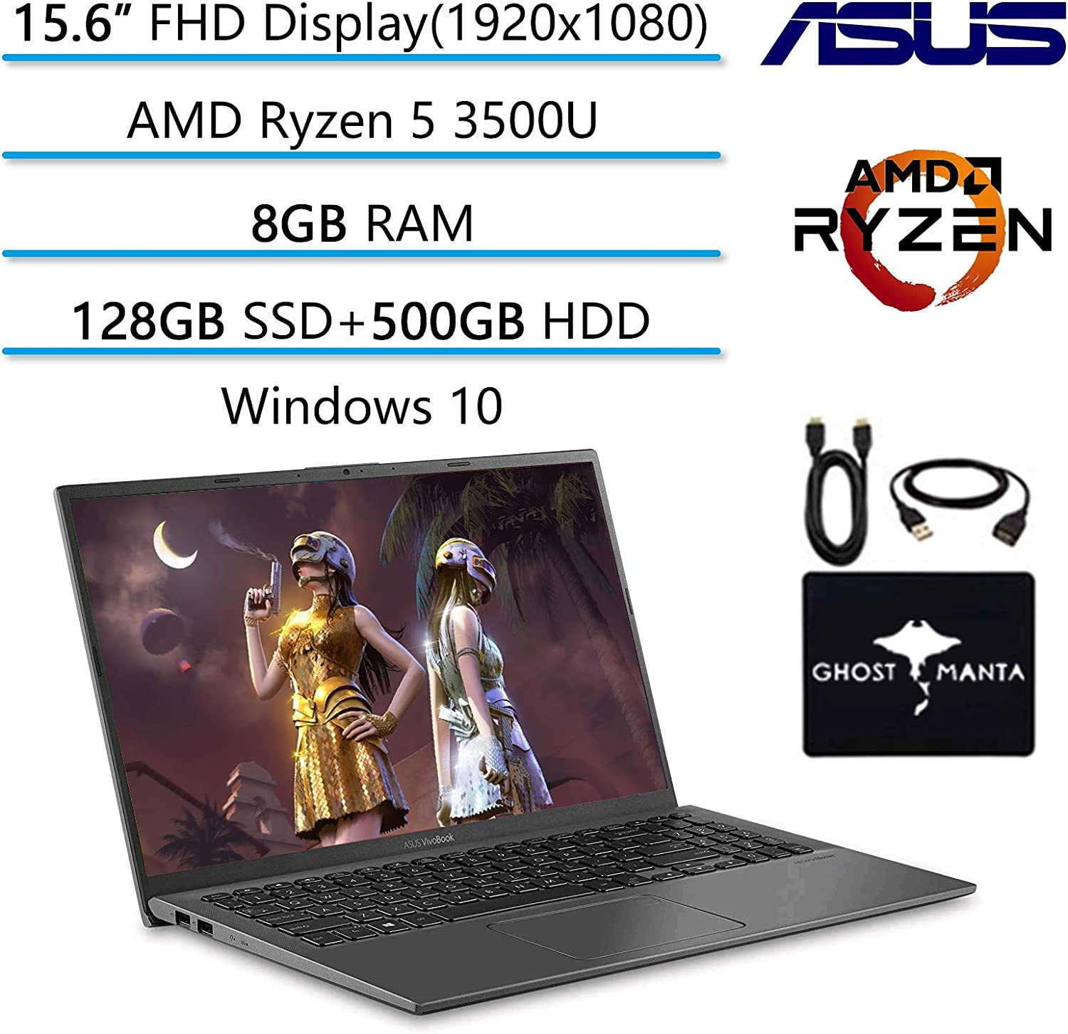 2020 Newest ASUS VivoBook 15.6
