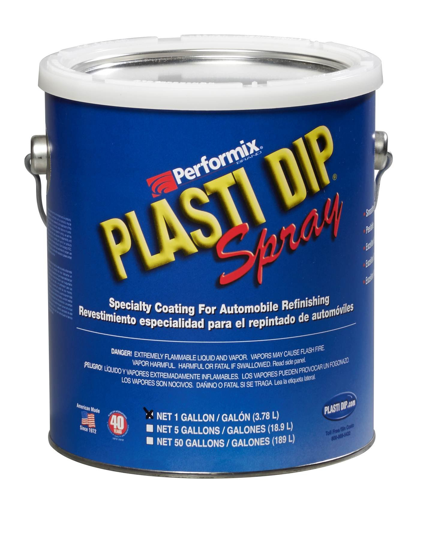 Plasti Dip Performix 10103S-4PK Black Spray - 1 Gallon, (Pack of 4) by Plasti Dip (Image #1)
