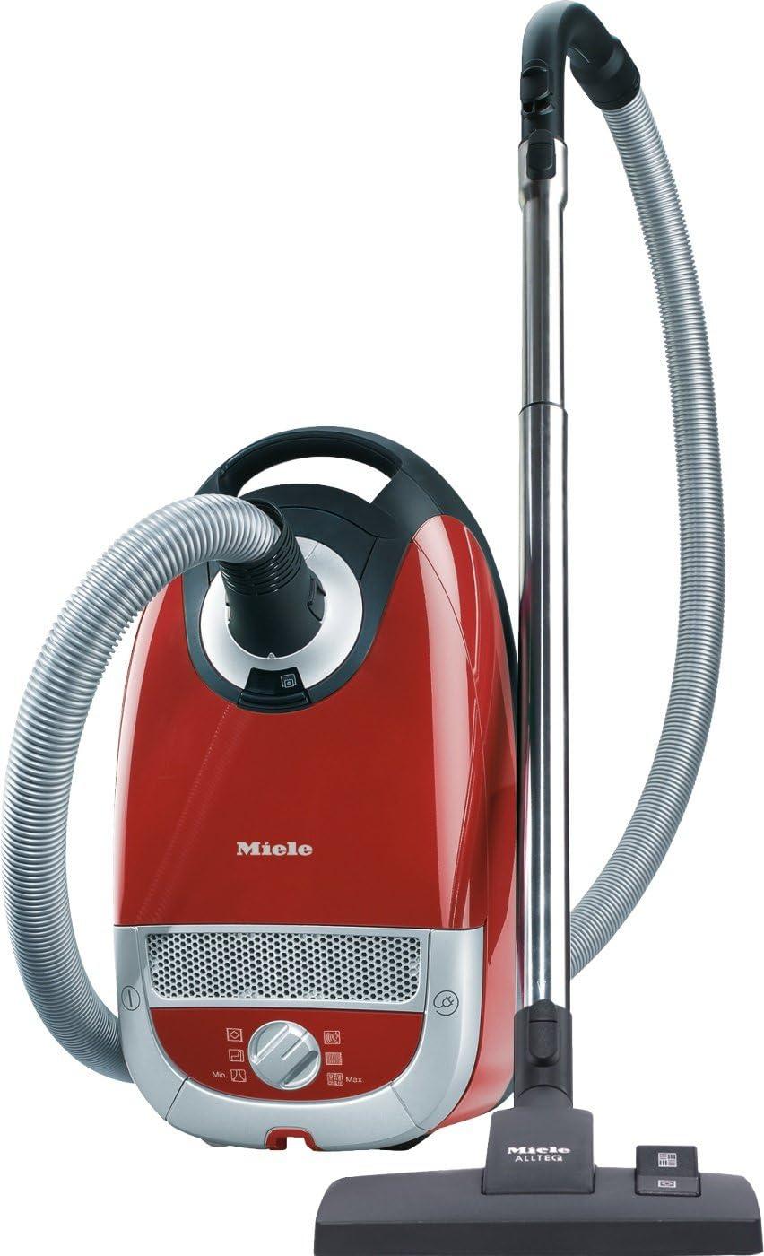 Miele S 5212 Aspirador de trineo con bolsa, de 2200 W, 4.5 litros, Rojo: Amazon.es: Hogar