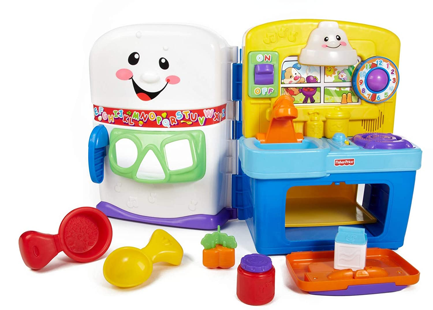 fisher price small kitchen