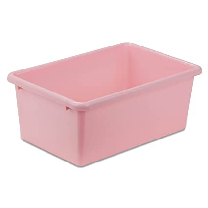 Ordinaire Honey Can Do PRT SRT1603 SMDKPNK Plastic Storage Bin, Small,