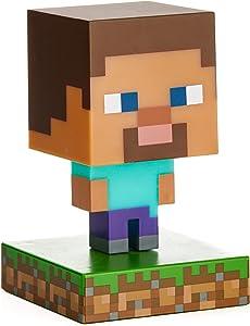 Paladone Minecraft Steve Icon Light - Officially Licensed Minecraft Merchandise
