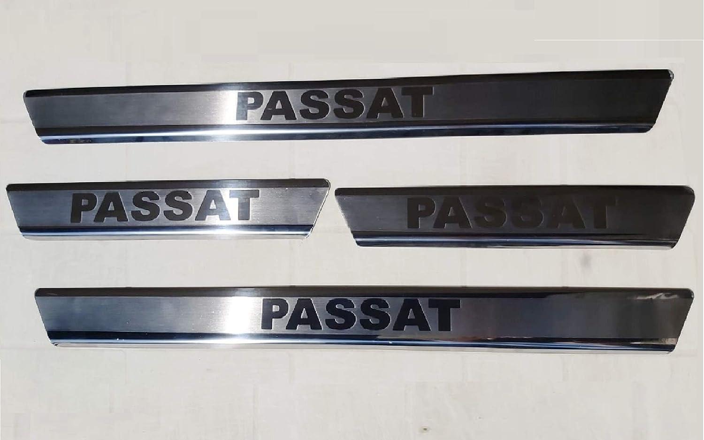 mne parts Passat B8 3G2.3G5 2014 Einstiegsleisten Schwellerleisten 4tlg Edelstahl