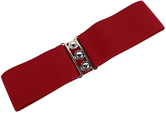 3979118f817d Hell Bunny Retro Ceinture Rouge S  Amazon.fr  Vêtements et accessoires