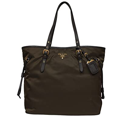 Prada Tessuto Large Double Shoulder Tote Bag jfCgFhqk