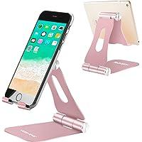 Mobile Phone Stand, Yoshine iPhone Desk Stand iPhone Holder Portable & Foldable & Adjustable Mobile Phone Holder Desktop…