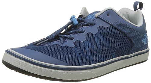 The North Face Base Camp Flow, Zapatillas de senderismo para hombre, Azul (Shady Blue/Cendre Blue), 40 EU: Amazon.es: Zapatos y complementos