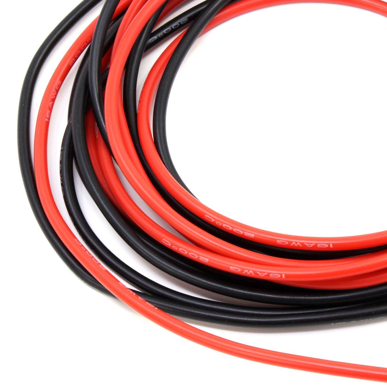 PsmGoods® 14 Füße 16 Gauge Silikon Draht: Amazon.de: Elektronik