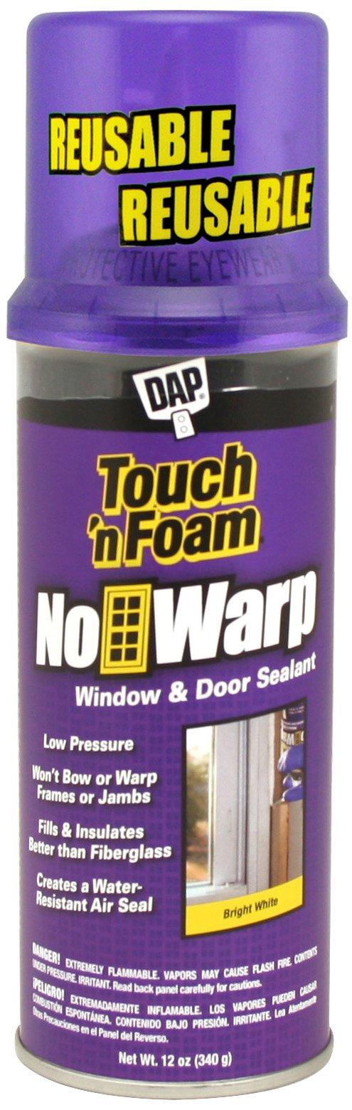 Touch 'n Foam 4001044000 No Warp Window and Door Sealant