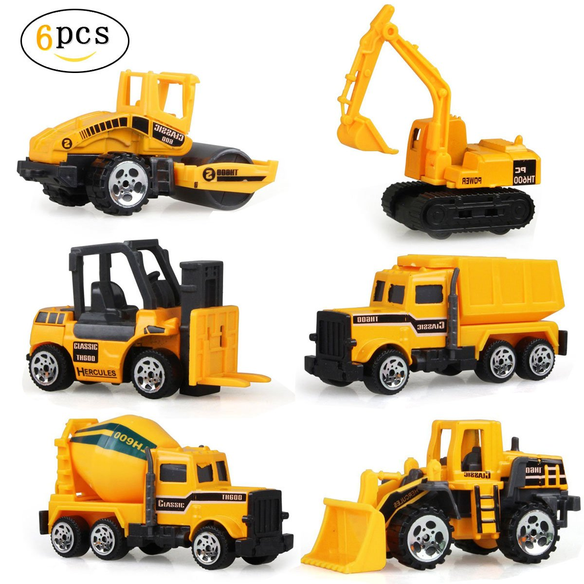Toy Construction Trucks : Beans car indoor playtime