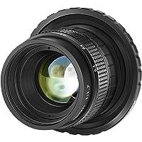 Neewer 35mm F1.7 Large Aperture APS-C Aluminum Lens Compatible with Sony E-Mount Mirrorless Cameras NEX-5R NEX6 NEX7…