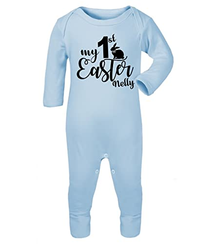 Personalised my first easter babygrow baby vest new baby gifts personalised my first easter babygrow baby vest new baby gifts newborn baby gifts personalised babywear baby negle Gallery