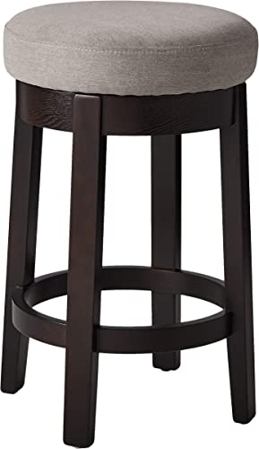 Amazon Brand Ravenna Home Backless Counter-Height Kitchen Bar Stool