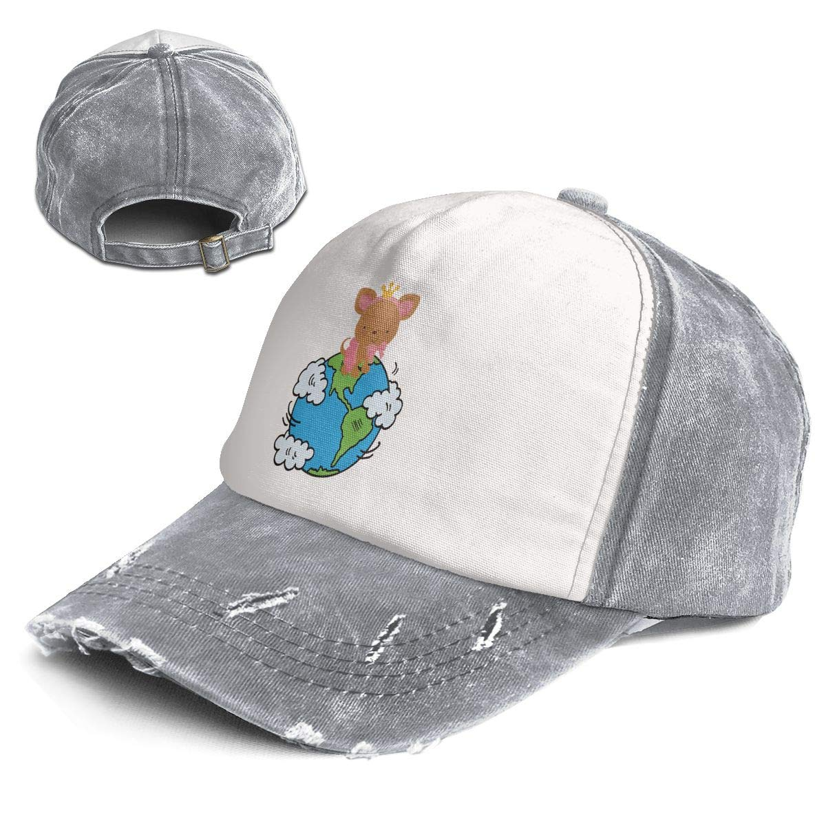 9af801d0aa822 Amazon.com  Earth Science Cute Puppy Adult Vintage Style Baseball Cap Hat  Black  Clothing