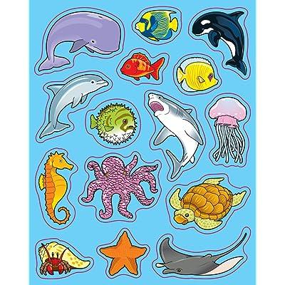 Carson Dellosa Sea Life Shape Stickers (5268): Carson-Dellosa Publishing: Office Products [5Bkhe1406308]