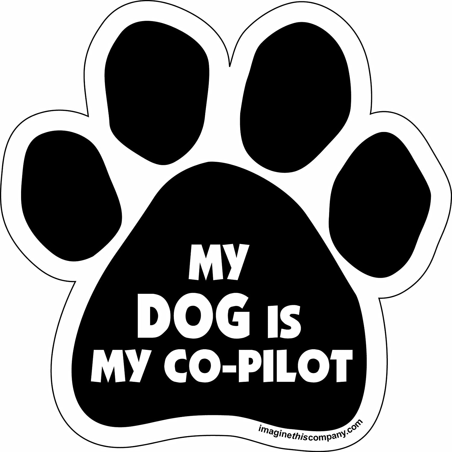 Amazoncom Car Magnets Auto Accessories Sports  Outdoors - Custom car magnets paw print