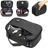 Sisma Travel Cables Organiser Carrying Case for Power Cords Phone Battery Chargers Earbuds Hard Drives Memory Cards…