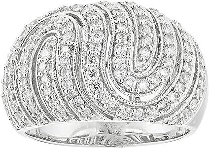 Eternal Jewels Ladies 18K Fashion Ring