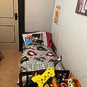 Amazon.com: Batman 4 Piece Toddler Bedding Set: Baby