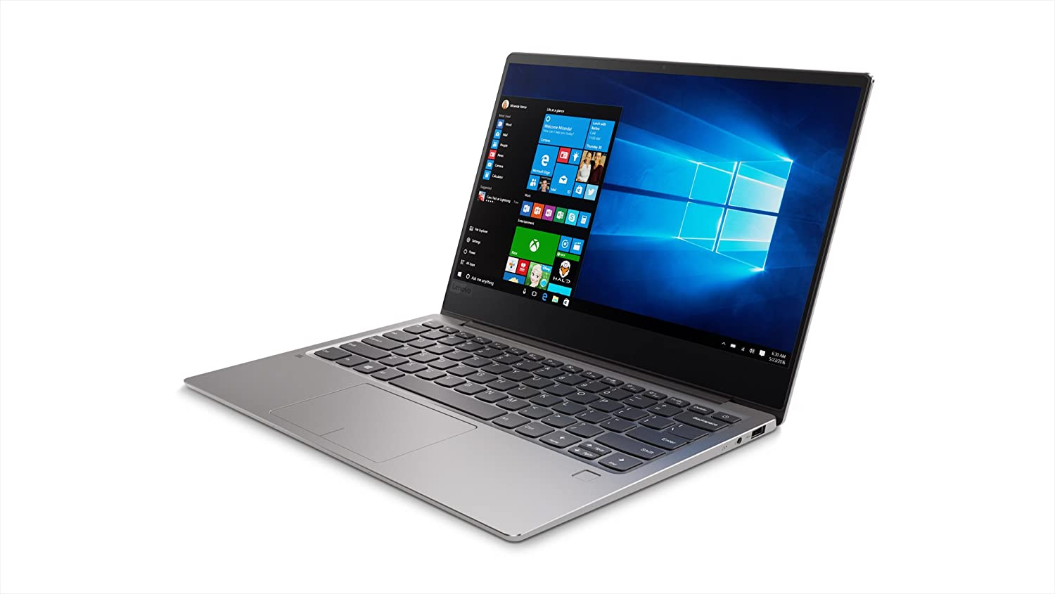 Lenovo Ideapad 720S 13.3-Inch Laptop (Intel Core i7-8550U Processor, 8GB RAM, 1TB PCle SSD, Integrated Intel UHD Graphics 620, Iron Grey) 81BV008KUS