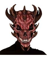 Forum Novelties Men's Devil Skull Latex Mask
