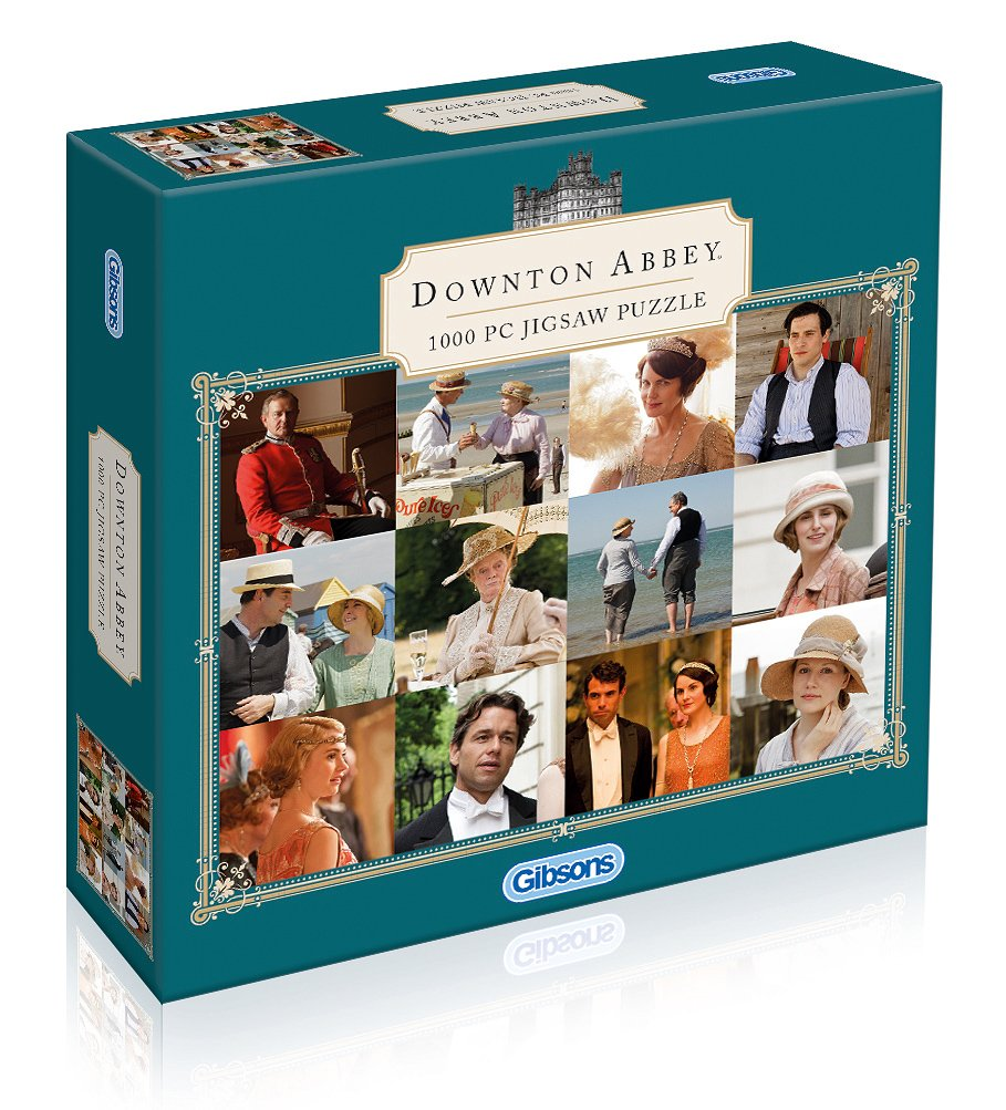 Gibson Games Games Games Jigsaw - Downton Abbey - 1000 Pieces G6154 022590