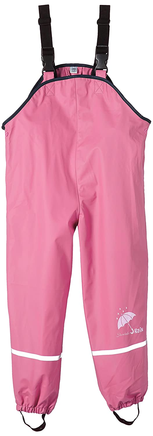Sterntaler Children's Rain Trousers, Unlined, Age: 18-24 Months, Size: 92, Pink 5651435