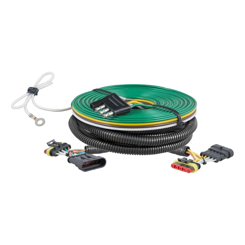 Curt Manufacturing 58911 Black Towing Wiring