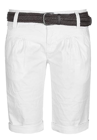 Fresh Made Pantalons d été Bermudas pour Les Femmes  b735ac6b3e1