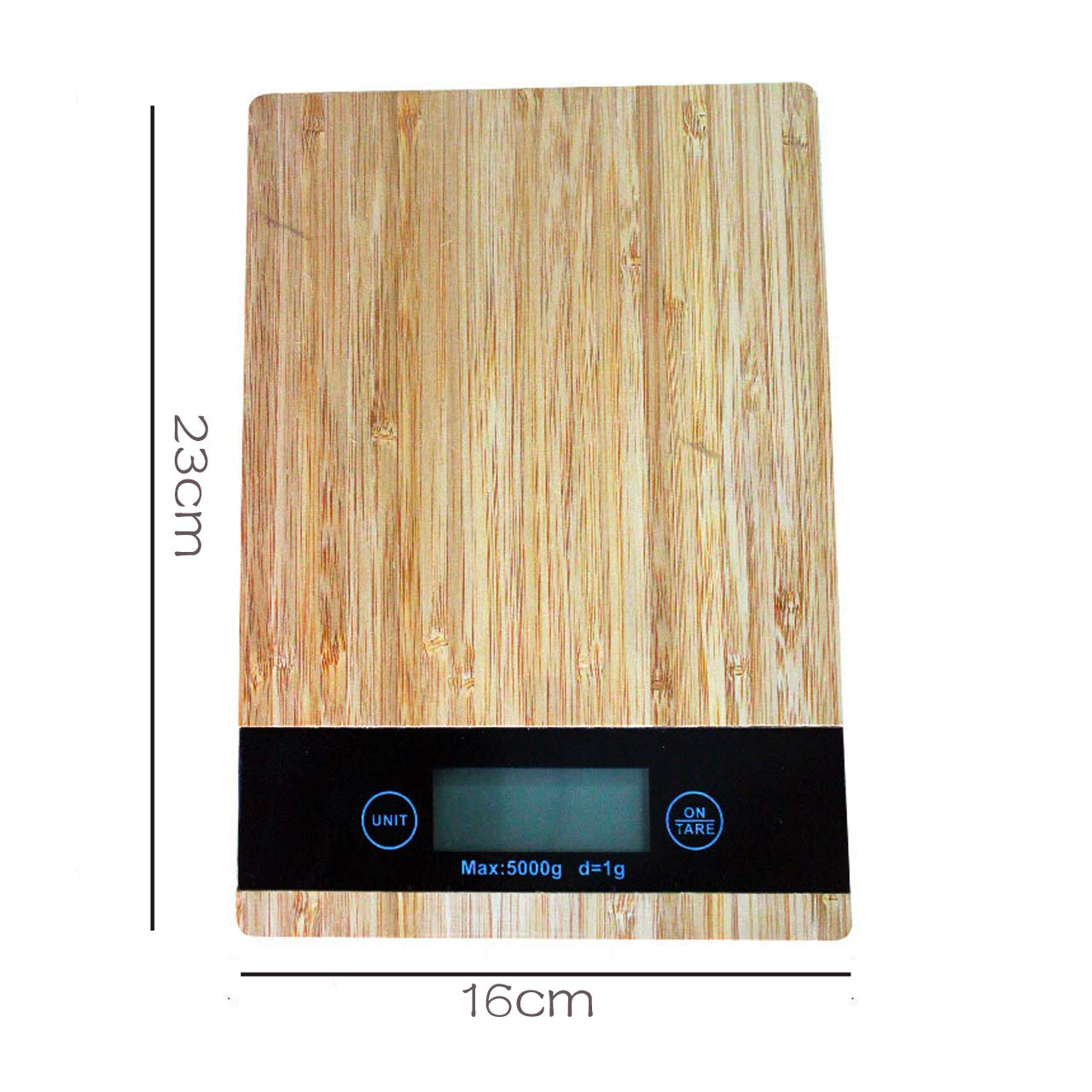 Electronic Kitchen Scale Bamboo Wood Grain Scale,5kg Kitchen Scale Baking Scale high Precision Electronic Scale