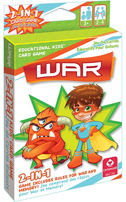 Kellis Shop 2 In 1 Card Game War & Memory by Carta Mundi by Cute Toys