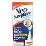 Neo-Synephrine Nasal Spray , Extra Strength Formula, 0.50 Ounces each (Value Pack of 4)