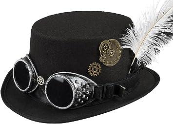 Boland 54502 Chapeau Steampunk, pour femme, taille unique: Amazon ...