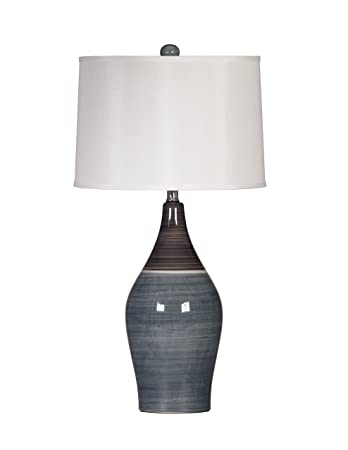 Ashley Furniture Signature Design - Niobe Ceramic Table Lamp - Set of 2 -  Multicolored Gray