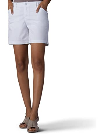 9f198df311 LEE Women's Straight Fit Tailored Chino Short
