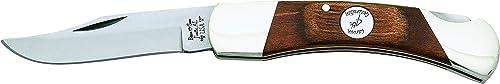 Bear Son Cutlery C205 Heritage Walnut Midsize Lockback Knife, 3 3 4 , Brown