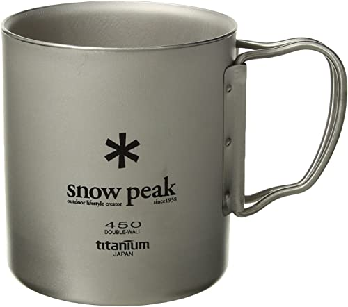Snow Peak Double Wall 450 Cup